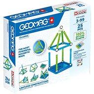 Geomag Classic 25 - Mágneses építőjáték