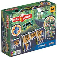 Magicube Jungle animals - Mágneses építőjáték