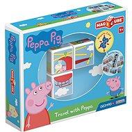 Magicube Peppa Pig Travel with Peppa - Mágneses építőjáték