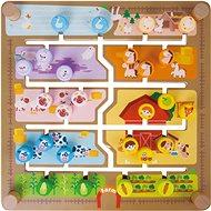 Formaberakó/oktató labirintus 2 az 1-ben - Interaktív játék