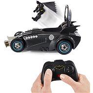 Batman RC Batmobil figurával és katapulttal