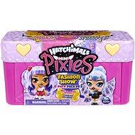 Hatchimals Mini Pixies babák 4 db Bőröndben - rózsaszín - Figurák