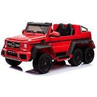 Mercedes-Benz G63 6X6, piros - Elektromos autó gyerekeknek
