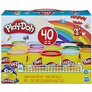 Play-Doh 40 db tégelyt tartalmazó csomag - Gyurma