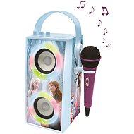 Lexibook Frozen, hordozható Bluetooth hangszóró mikrofonnal és fényhatásokkal - Zenélő játék