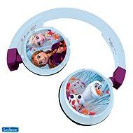 Fej-/fülhallgató Lexibook Jégvarázs fejhallgató biztonságos hangerővel gyermekek számára