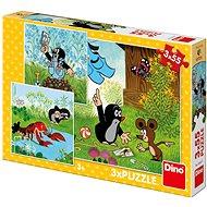 Kisvakond és a nadrág 3X55 új puzzle - Puzzle