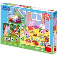 Peppa Pig nyaral 3 X 55 Puzzle Új - Puzzle