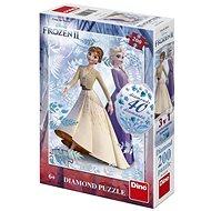 Frozen II 200 Diamond puzzle új - Puzzle