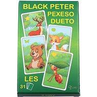 Fekete Péter erdő - Kártyajáték