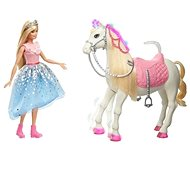 Barbie Princess Adventure varázslatos paripa hercegnővel - Baba