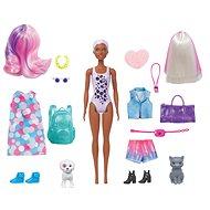 Barbie Color Reveal Barbie kisállattal - Baba