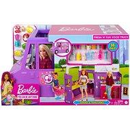 Barbie mobil étterem - Játék szett