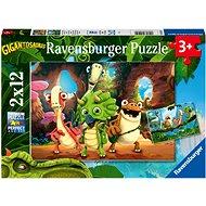 Ravensburger 051250 Gigantosaurus 2x12 darab - Puzzle