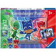 Ravensburger 076222 Pizsihősök: a jó és a rossz 2x12 darab - Puzzle
