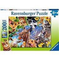 Ravensburger 129027 Vicces állatok 200 darab