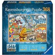 Ravensburger 129263 Exit KIDS Puzzle: Vidámpark 368 darab - Puzzle