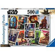 """Ravensburger 165612 The Mandalorian - """"Baby Yoda"""" 500 darab - Puzzle"""