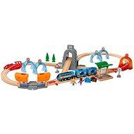 Brio World 33972 SMART TECH SOUND Utazókészlet alagutakkal - Kisvasút
