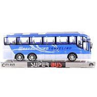 Lendkerekes autóbusz - kék - Játékautó