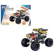 Kis szerelő - autó jeep, 201 db - Építőjáték