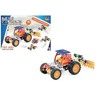 Kis szerelő - traktor tartozékokkal 4 az 1-ben, 161 db - Építőjáték