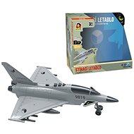 Harci repülőgép lendkeréken, fény és hang elemekkel - Játékrepülő