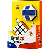 Rubikova kocka retro szett (snake + 3 x 3 x 3) - Fejtörő