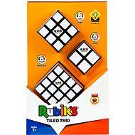Rubik kocka - Trio szett (2x2x2 + 3x3x3 + 4x4x4) - Fejtörő