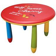 Gyerek asztal Gyermek műanyag asztal játékos színkialakításban - Dětský stůl