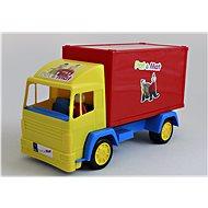 25 cm-es szekrény P & M figurával - Játékautó