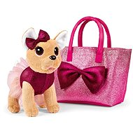 Simba ChiChi Love Chihuahua Bow Fashion kutya táskában - Plüssjáték
