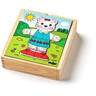 """Woody Puzzle szekrény """"Macska"""", 18 részből áll - Puzzle"""