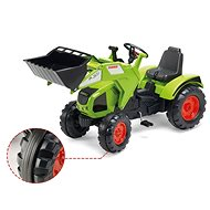 Claas Axos 330 Traktor elülső kanállal - Pedálos traktor