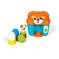 Clementoni Clemmy baby - kutyusos kis vödör kockákkal - Babajáték