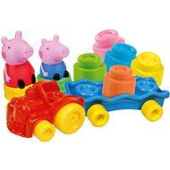 Babajáték Clementoni Clemmy baby - Peppa Pig - vonat kockákkal