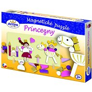 Hercegnő mágneses puzzle - Készségfejlesztő játék