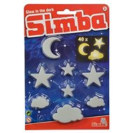 Simba GID Ragyogó felhők, hold és csillagok 40 rész - Világító figurák