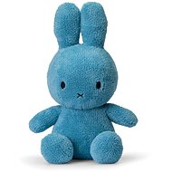 Miffy Sitting Terry Ocean Blue 33 cm - Plüssjáték