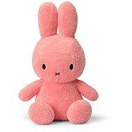 Miffy Sitting Terry Pink 33 cm - Plüssjáték