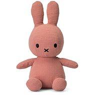 Miffy Sitting Mousseline Pink 23 cm - Plüssjáték