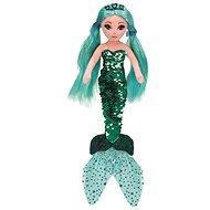 Ty Mermaids WAVERLY, 27 cm - flitteres zöld sellő