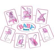 Összecsukható babakocsi Baby Born - Játék babakocsi