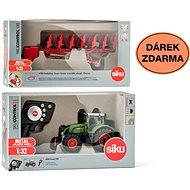 Siku Control - limitált kiadású Fendt 939 traktor + kétoldalas eke 6783 1:32 - Távirányitós autó