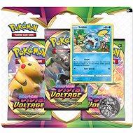 Játék Pokémon TCG: SWSH04 élénk feszültség - 3 buborékfólia erősítő