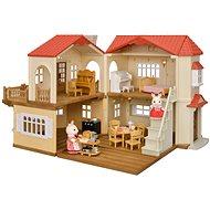 Sylvanian családok ajándékcsomag - Ház piros tetővel A