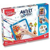 Maped Artist Board készlet - Átlátszó tábla rajzolásra