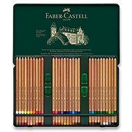 Faber-Castell Pitt Pastell ceruzák bádogdobozban, 60 színben - Színes ceruzák