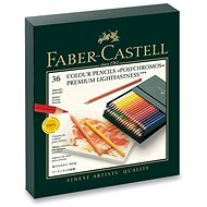 Faber-Castell Polychromos színesek praktikus dobozban (Studio Box), 36 szín - Színes ceruzák
