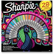 Sharpie Peacock tartós markerek, 28 szín - Dekormarker